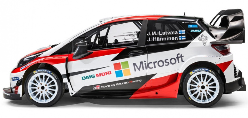 Toyota dedahkan Yaris WRC 2017 secara rasmi, dipandu oleh Jari-Matti Latvala dan Juho Hänninen Image #591172