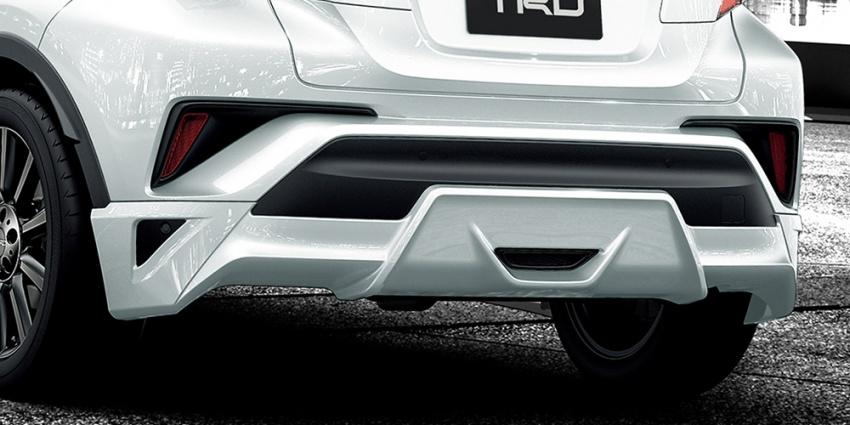 Toyota C-HR terima kit talaan TRD dan Modelista Image #592101