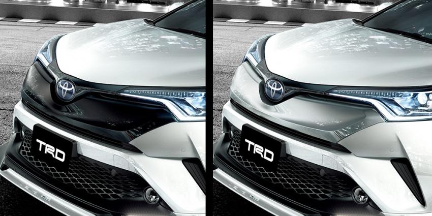 Toyota C-HR terima kit talaan TRD dan Modelista Image #592099