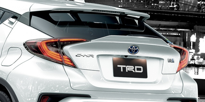 Toyota C-HR terima kit talaan TRD dan Modelista Image #592098