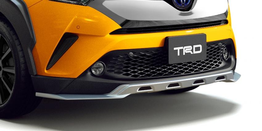 Toyota C-HR terima kit talaan TRD dan Modelista Image #592095