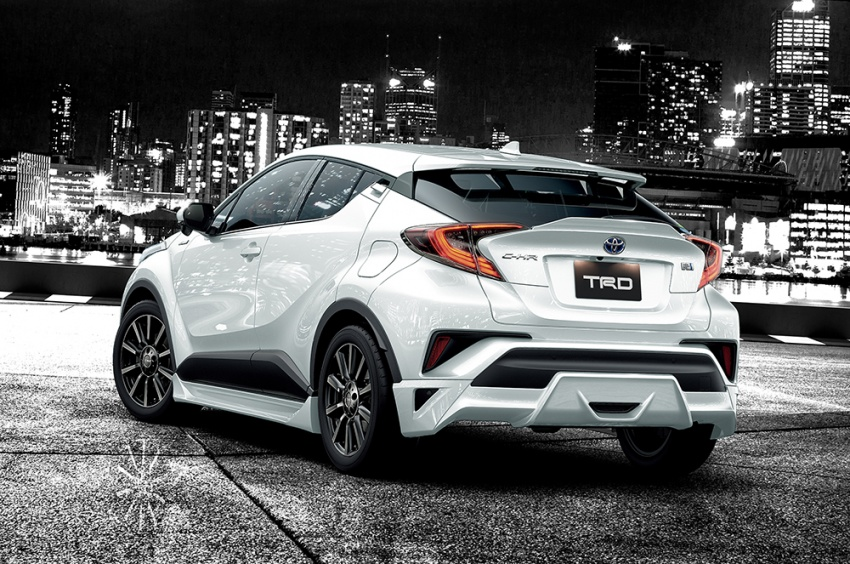 Toyota C-HR terima kit talaan TRD dan Modelista Image #592114