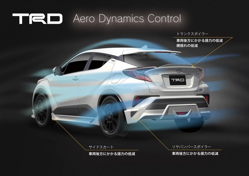 Toyota C-HR terima kit talaan TRD dan Modelista Image #592106