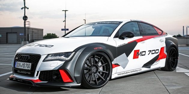 Md Exclusive Car Design Boosts Audi S7 To 690 Hp