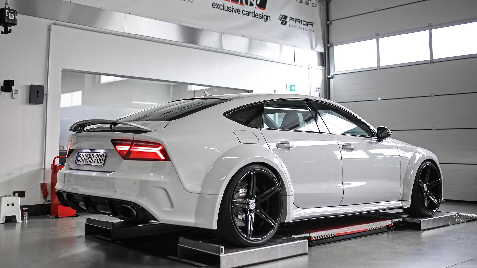 M Amp D Exclusive Car Design Boosts Audi S7 To 690 Hp Paul Tan