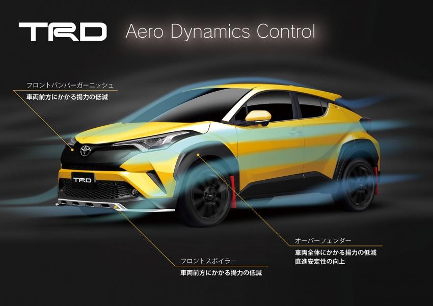 Toyota C-HR terima kit talaan TRD dan Modelista Image #592111