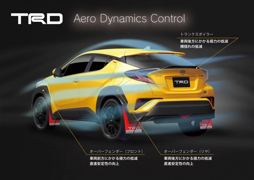 Toyota C-HR terima kit talaan TRD dan Modelista Image #592105