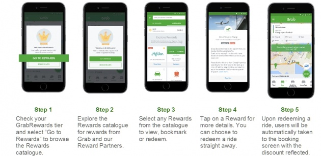 Grab launches GrabRewards - making rides rewarding