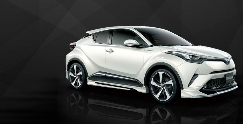 Toyota C-HR terima kit talaan TRD dan Modelista Image #592069