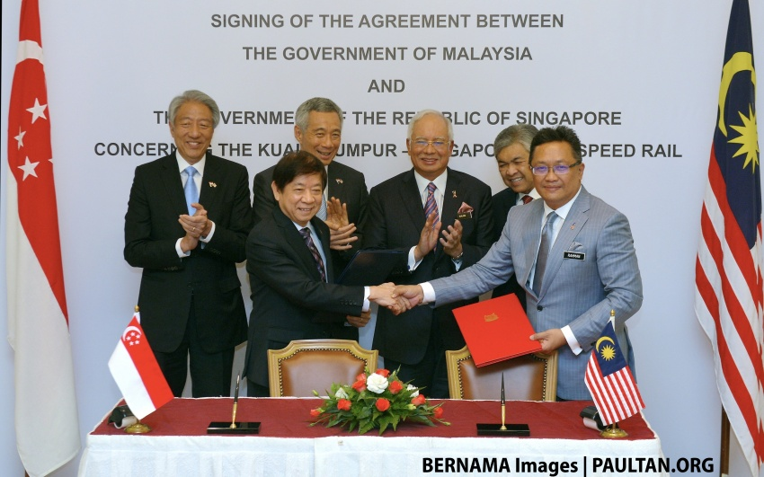 Malaysia and Singapore sign agreement for HSR Image #591015