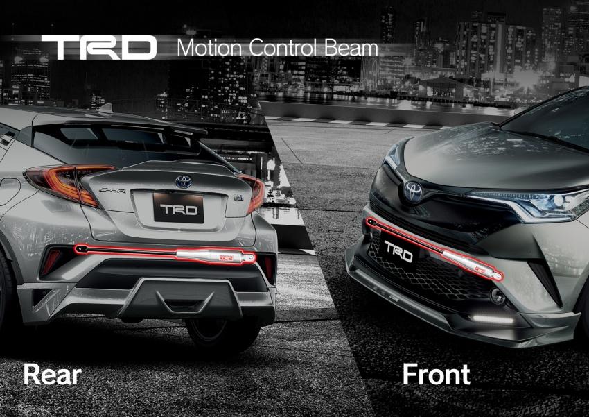 Toyota C-HR terima kit talaan TRD dan Modelista Image #592107