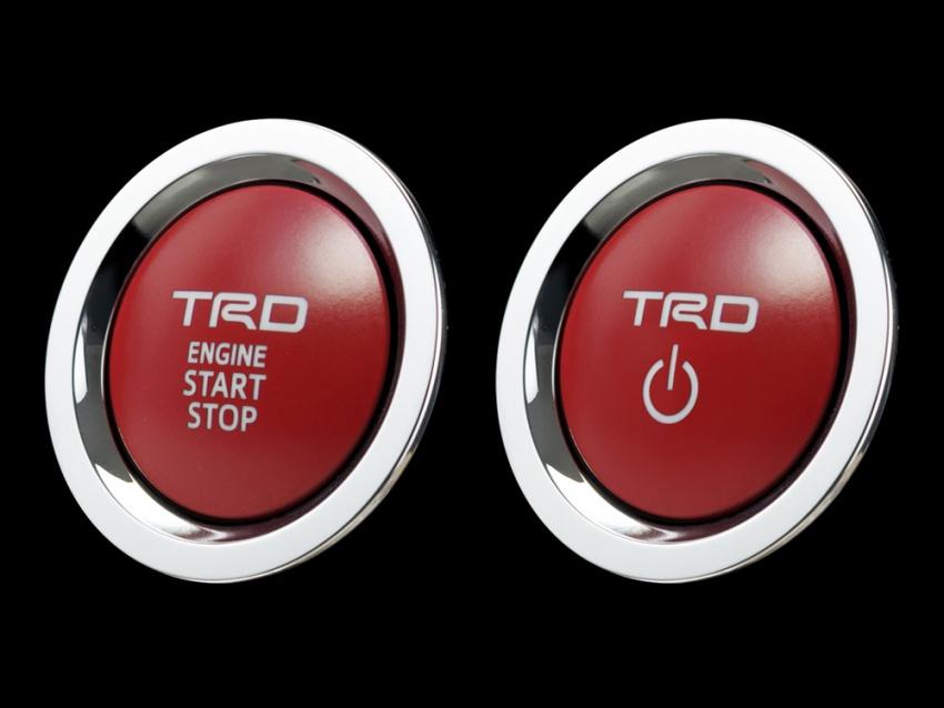 Toyota C-HR terima kit talaan TRD dan Modelista Image #592080