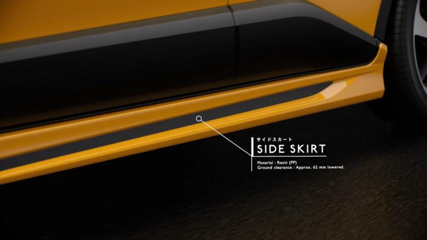 Toyota C-HR terima kit talaan TRD dan Modelista Image #591935