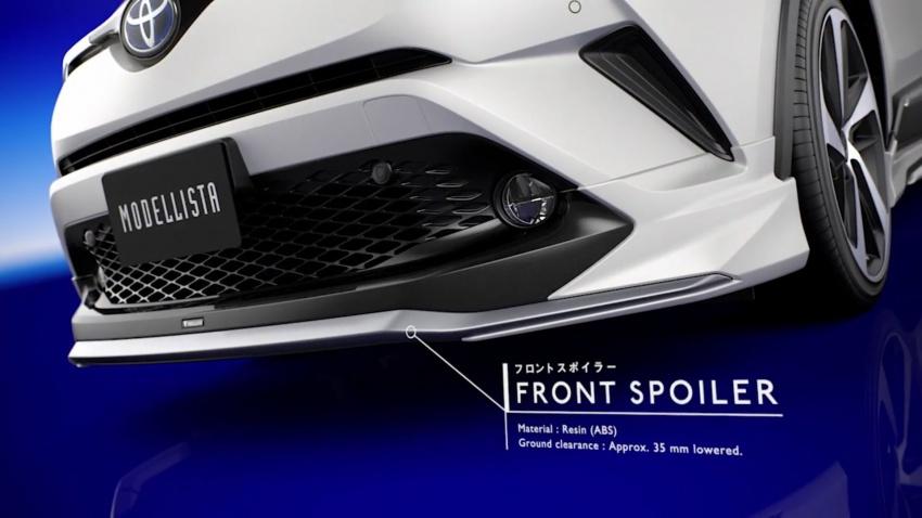 Toyota C-HR terima kit talaan TRD dan Modelista Image #591933