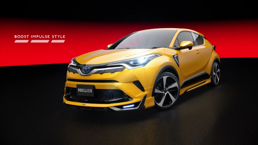 Toyota C-HR terima kit talaan TRD dan Modelista Image #591940