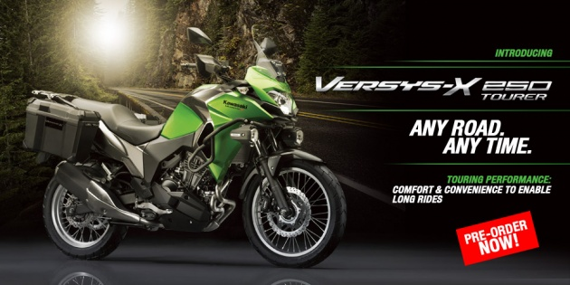 Kawasaki Versys-X 250 Now In Indonesia, From RM20k