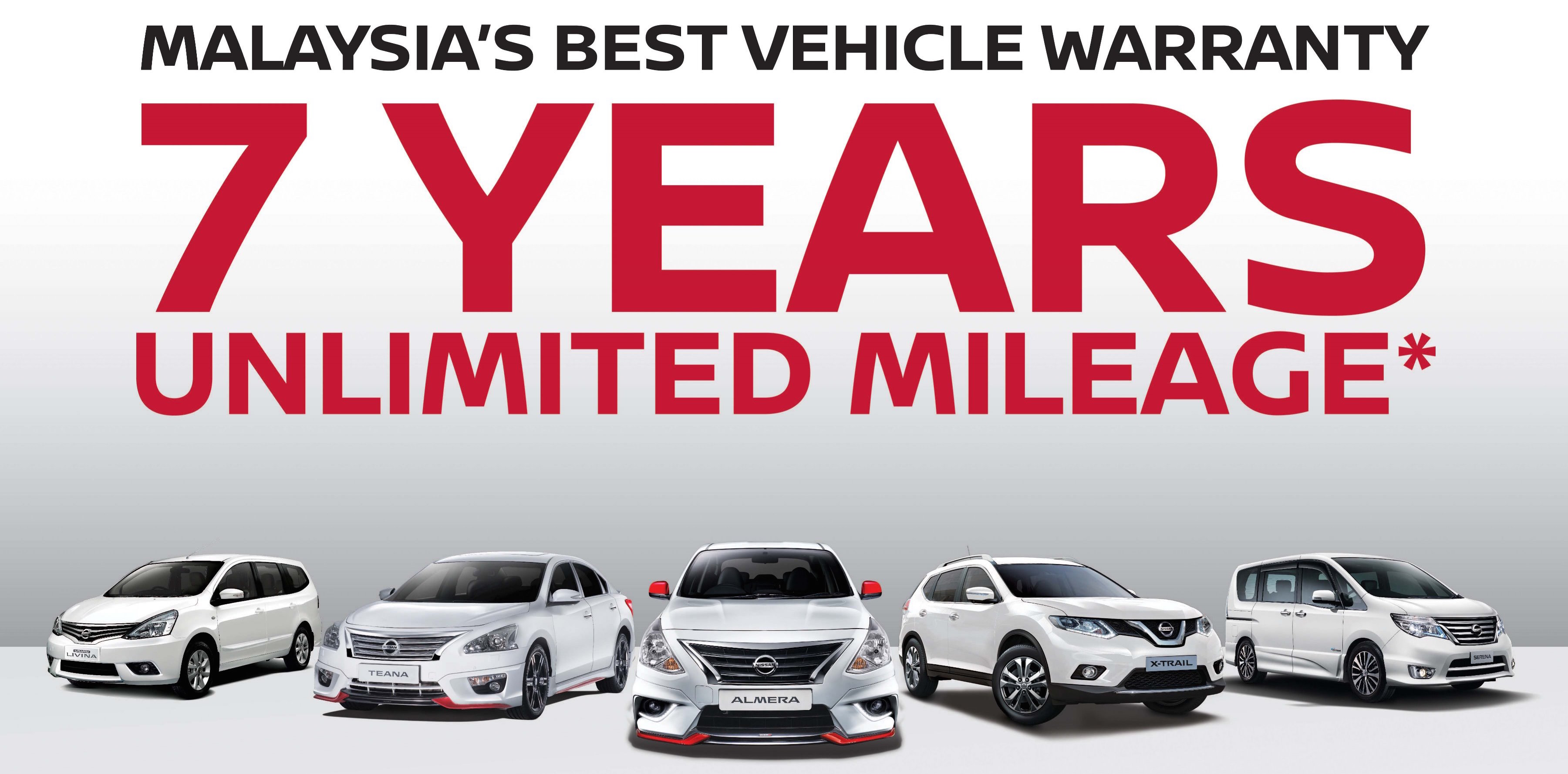 nissan and infiniti now provide a seven year unlimited mileage warranty in malaysia class. Black Bedroom Furniture Sets. Home Design Ideas