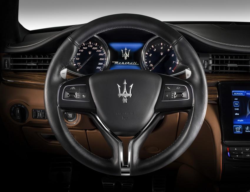 Maserati Quattroporte facelift tiba di Malaysia – varian GranSport, GranLusso; 3.0 V6, harga dari RM779k Image #599934