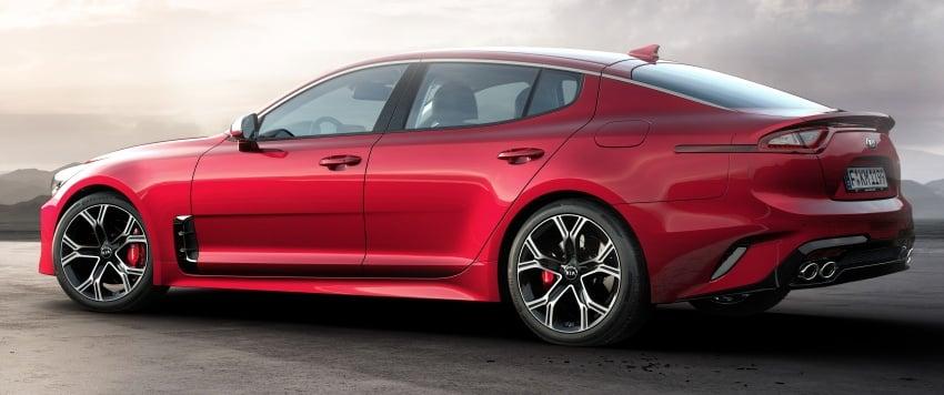 2018 Kia Stinger unveiled – it's a production Kia GT! Image #600002