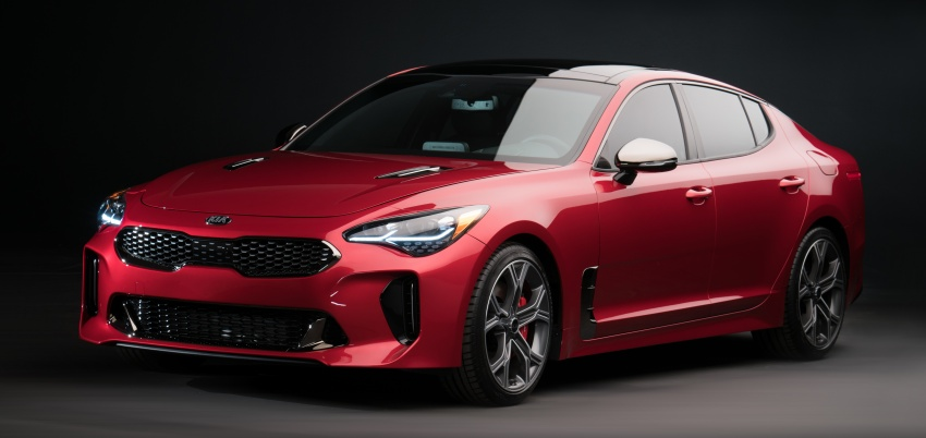 2018 Kia Stinger unveiled – it's a production Kia GT! Image #600008