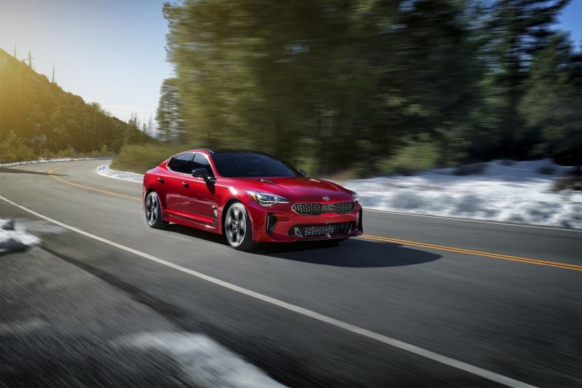 2018 Kia Stinger unveiled – it's a production Kia GT! Image #600017