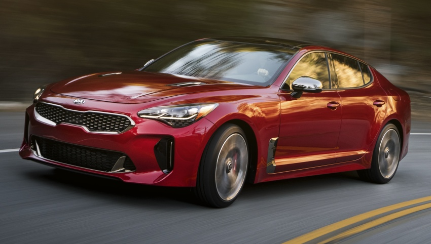 2018 Kia Stinger unveiled – it's a production Kia GT! Image #600028