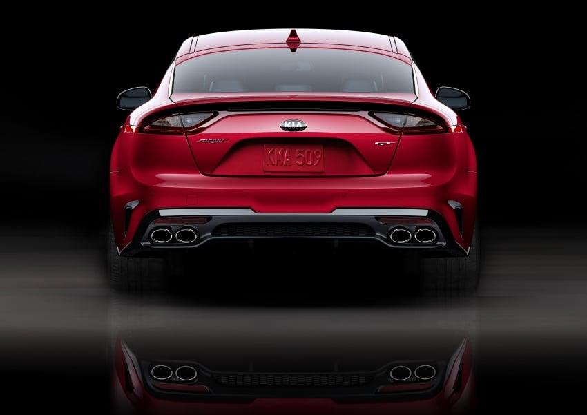 2018 Kia Stinger unveiled – it's a production Kia GT! Image #600030
