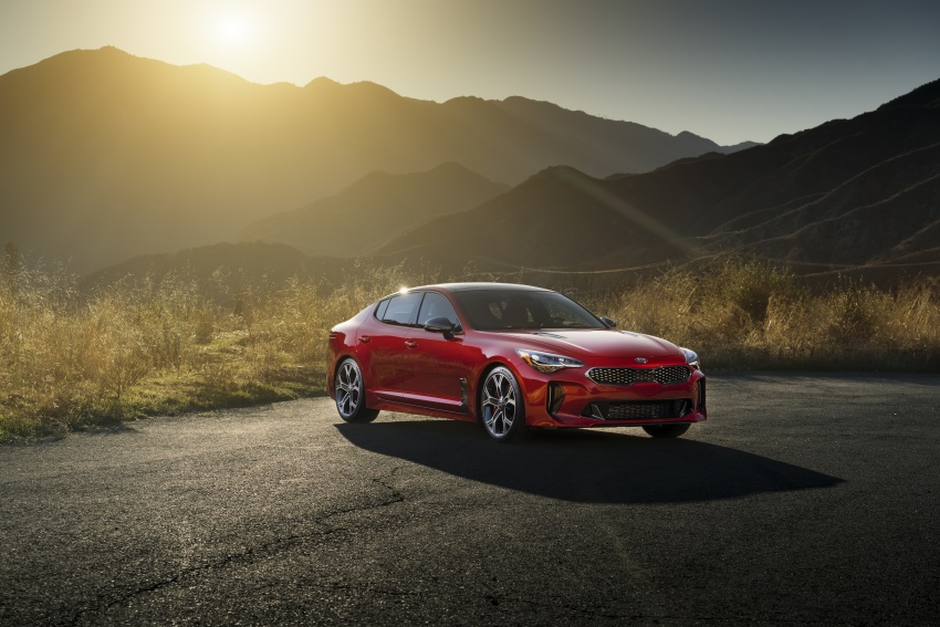 2018 Kia Stinger unveiled – it's a production Kia GT! Image #600040
