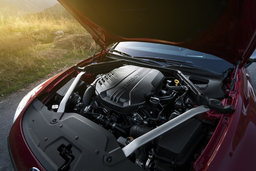 2018 Kia Stinger unveiled – it's a production Kia GT! Image #600048