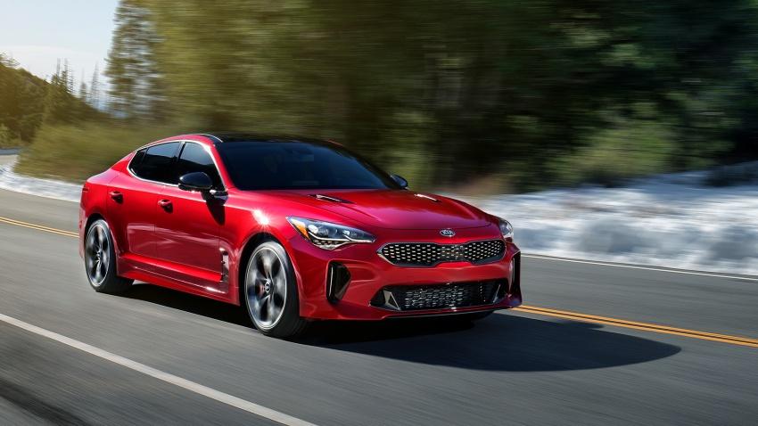 Kia Stinger 2018 didedahkan – model produksi sebenar kereta sport empat-pintu dari konsep Kia GT Image #600357