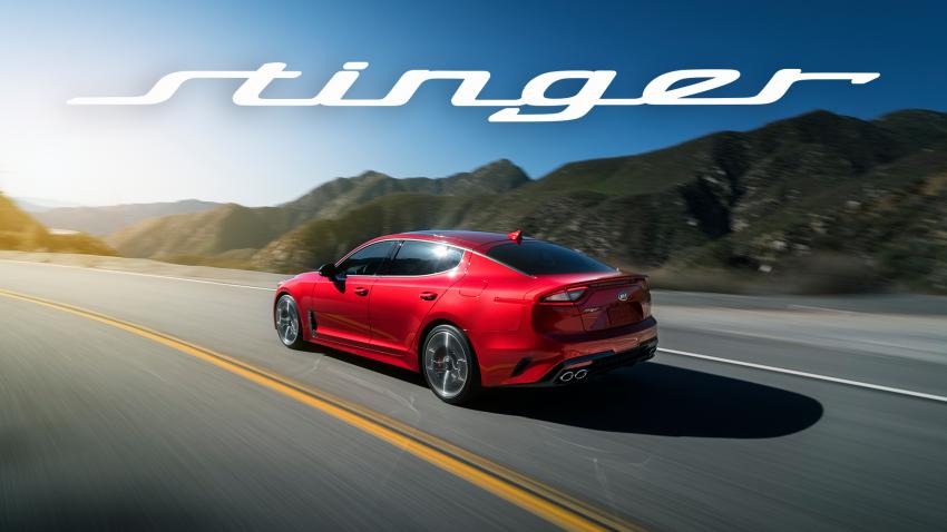 2018 Kia Stinger unveiled – it's a production Kia GT! Image #600052