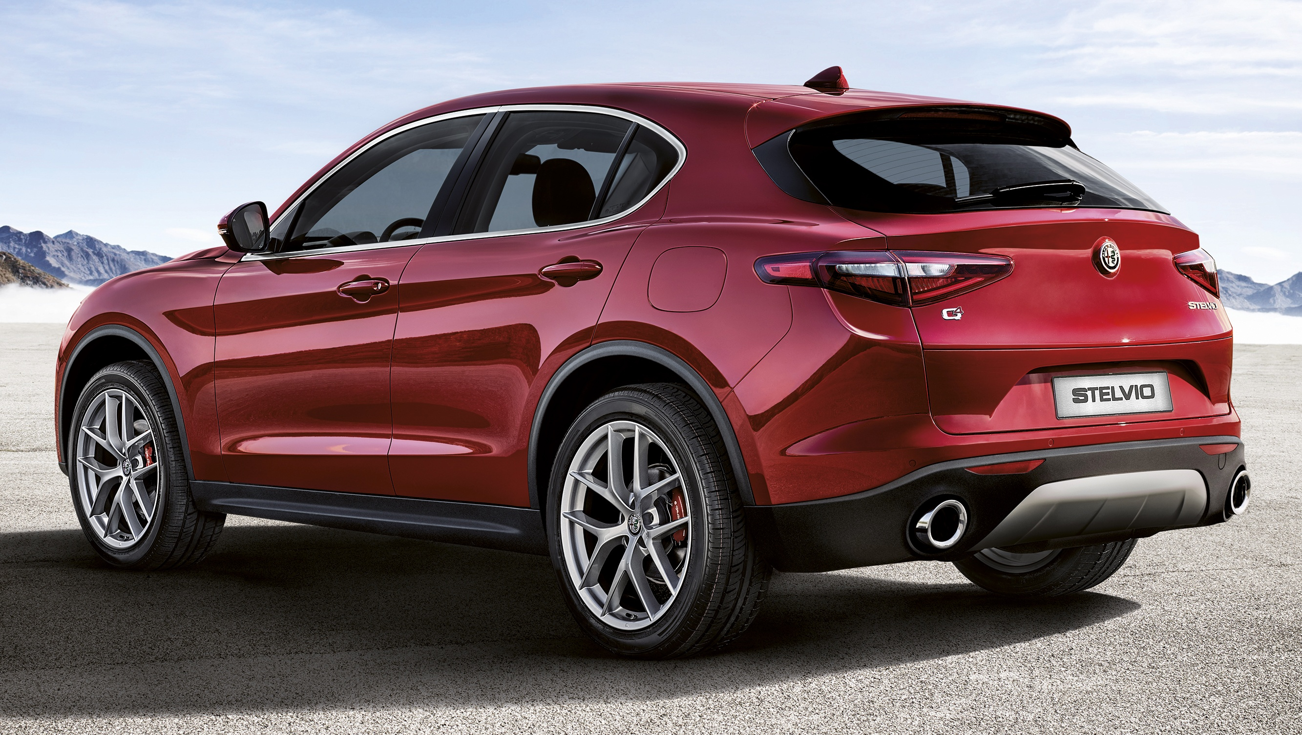 alfa romeo stelvio first edition standard car shown. Black Bedroom Furniture Sets. Home Design Ideas