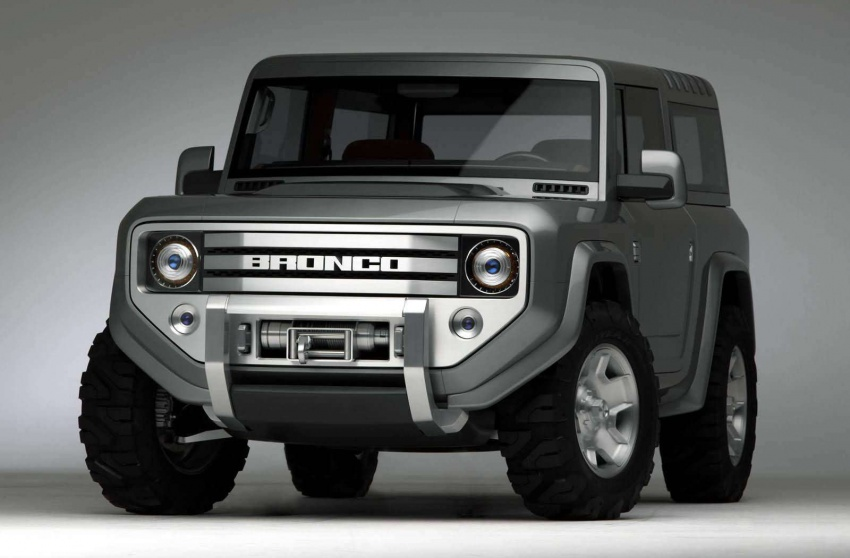 Ford Bronco 4×4 confirmed for 2020 – Ranger-based Image #601522