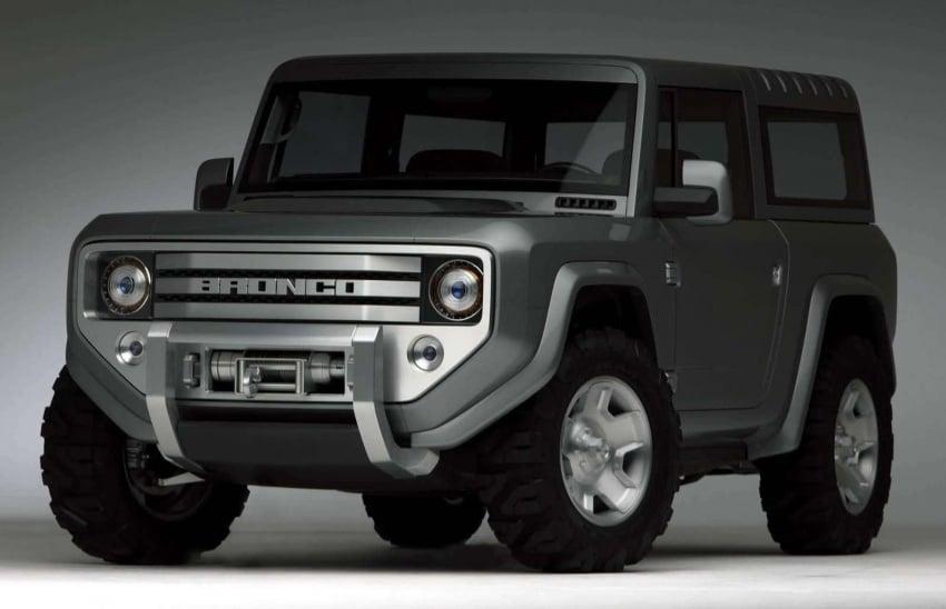Ford Bronco 4×4 confirmed for 2020 – Ranger-based Image #601523