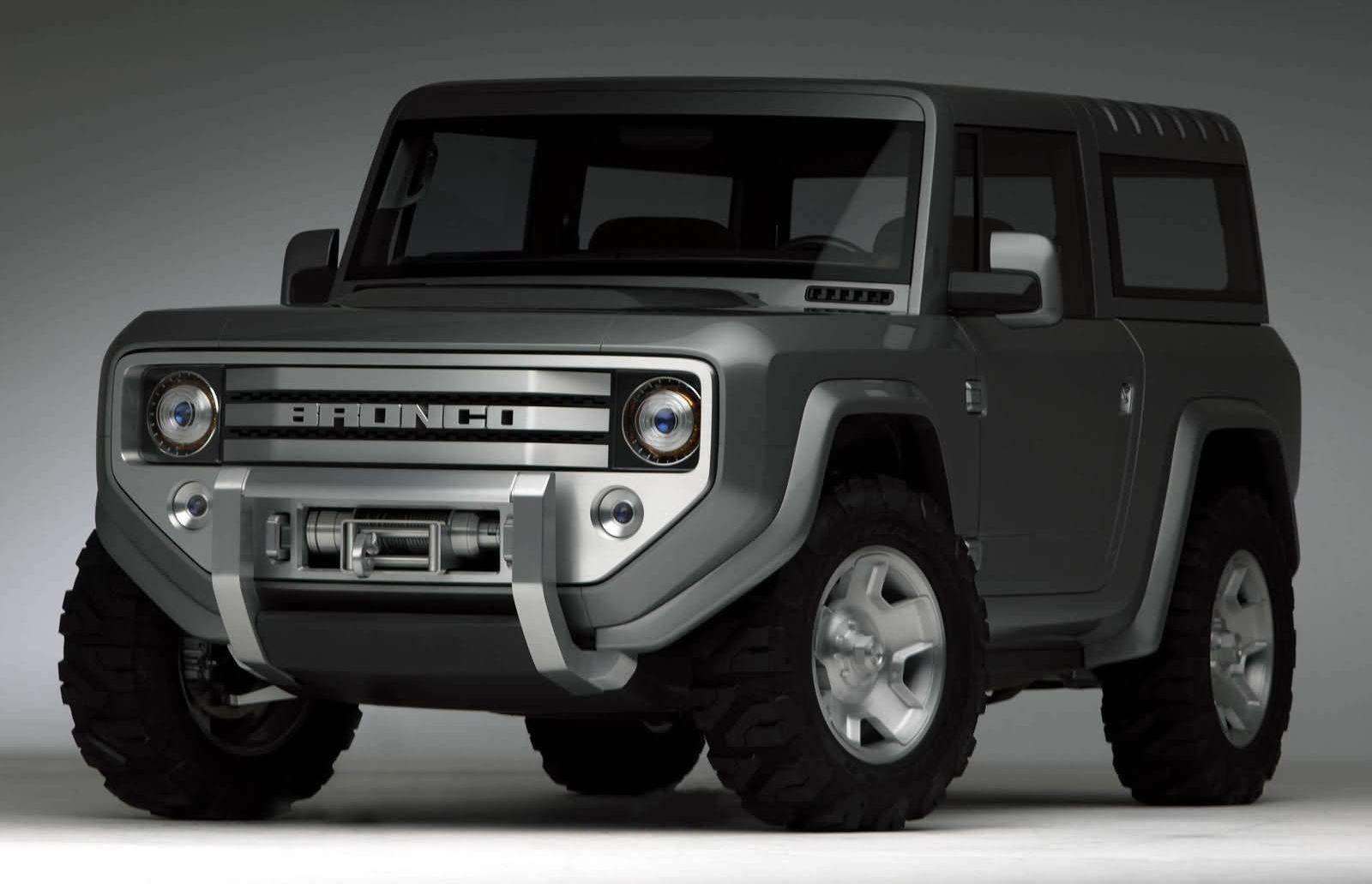 Back to Story: Ford Bronco 4×4 confirmed for 2020 – Ranger-based