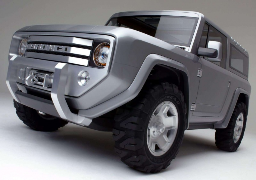Ford Bronco 4×4 confirmed for 2020 – Ranger-based Image #601524