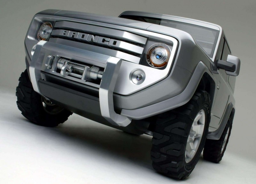Ford Bronco 4×4 confirmed for 2020 – Ranger-based Image #601525