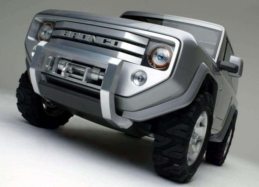 Ford Bronco 4×4 confirmed for 2020 – Ranger-based Image #601525