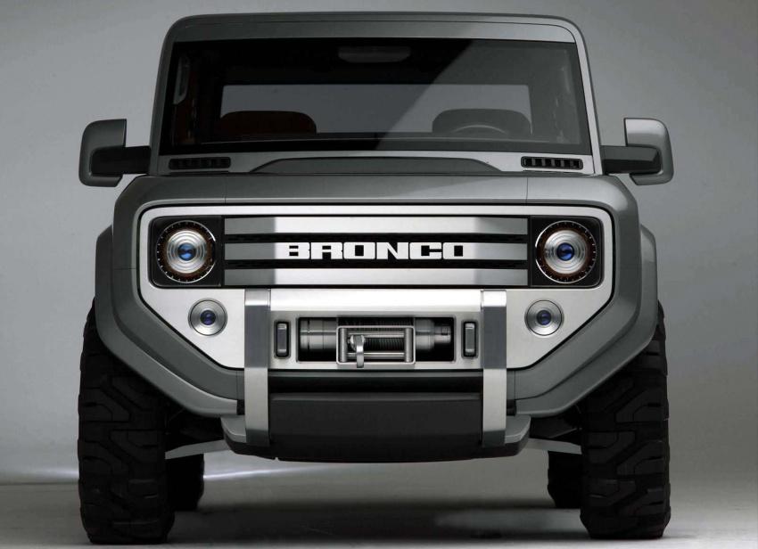 Ford Bronco 4×4 confirmed for 2020 – Ranger-based Image #601526