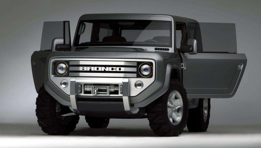 Ford Bronco 4×4 confirmed for 2020 – Ranger-based Image #601527