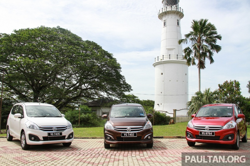 DRIVEN: Proton Ertiga – taking it out on the road Image #599782