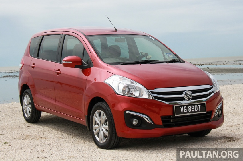 DRIVEN: Proton Ertiga – taking it out on the road Image #599791