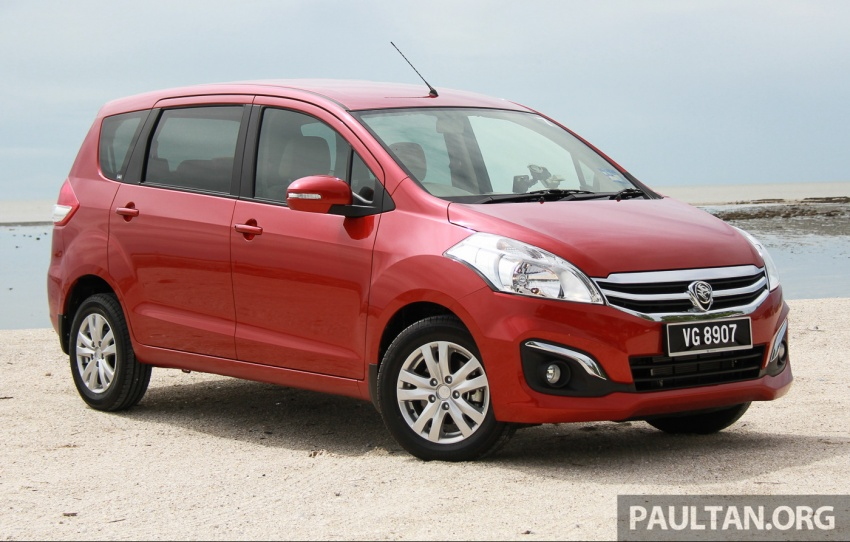 DRIVEN: Proton Ertiga – taking it out on the road Image #599783