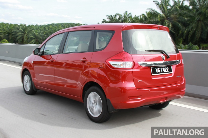 DRIVEN: Proton Ertiga – taking it out on the road Image #599820