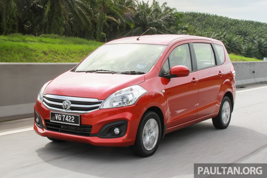 DRIVEN: Proton Ertiga – taking it out on the road Image #599821