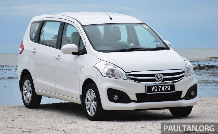 DRIVEN: Proton Ertiga – taking it out on the road Image #599830