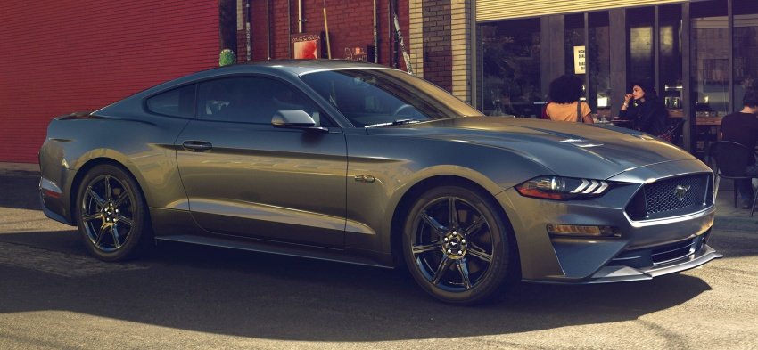 2018 Ford Mustang facelift – more kit and refinement, new 10R80 ten-speed auto transmission goes on Image #606061