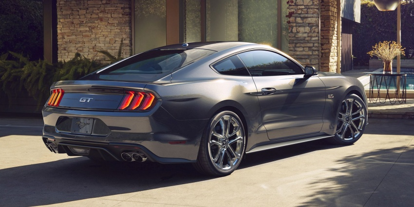 2018 Ford Mustang facelift – more kit and refinement, new 10R80 ten-speed auto transmission goes on Image #606060