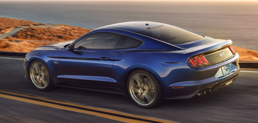 2018 Ford Mustang facelift – more kit and refinement, new 10R80 ten-speed auto transmission goes on Image #606058
