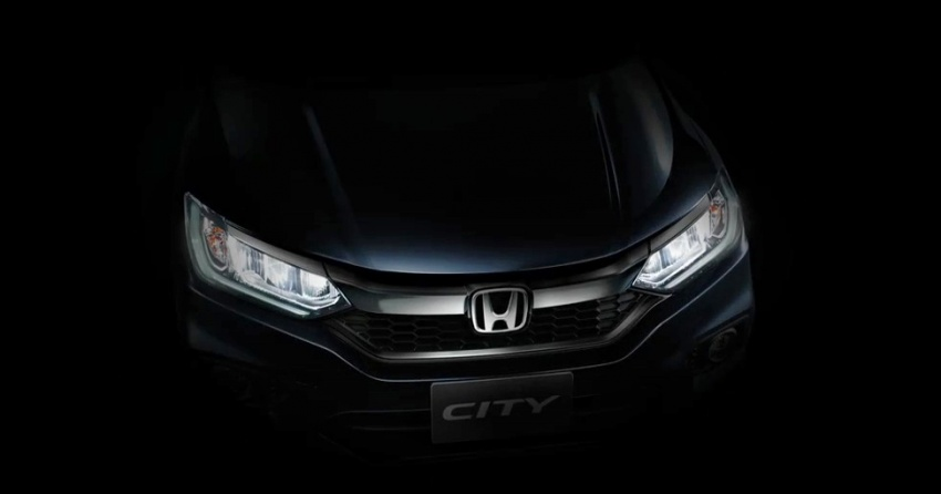 2017 Honda City facelift teased again – front shown Image #599249